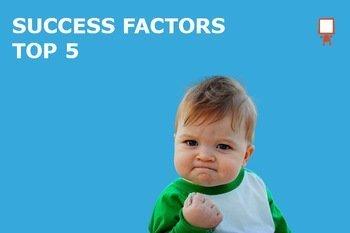 Top 5 Crowdfunding Success Factors