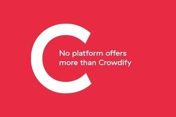 No platform offers more than Crowdify