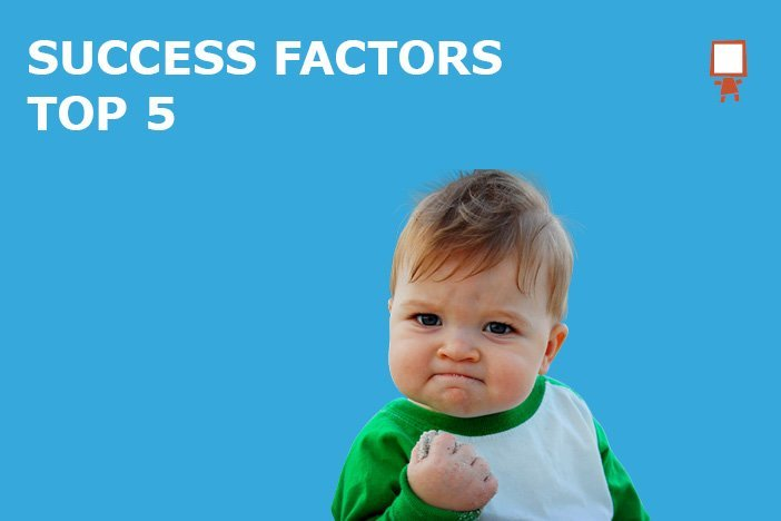 Top 5 Crowdfunding Success Factors