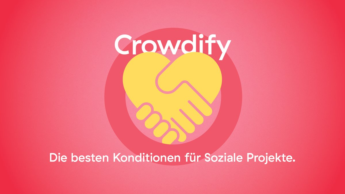Crowdify unterstützt soziale Projekte