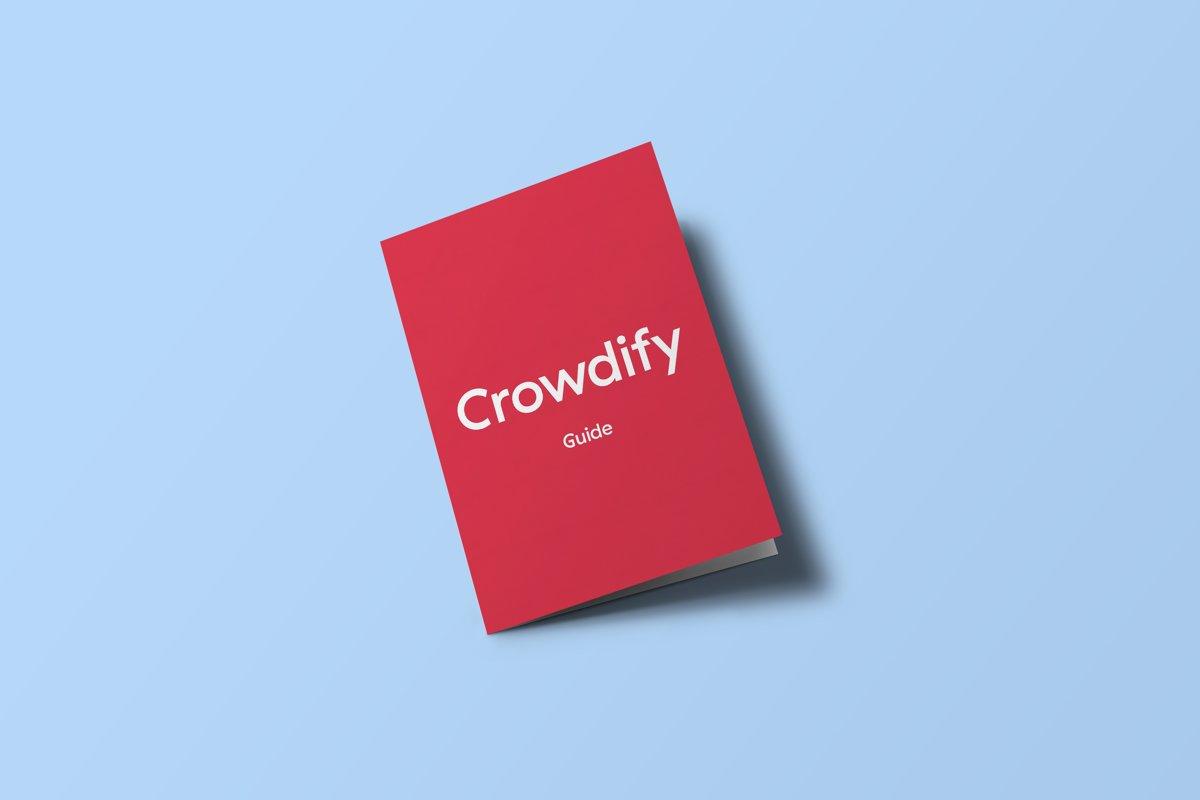 Le nouveau guide Crowdify est arrivé!