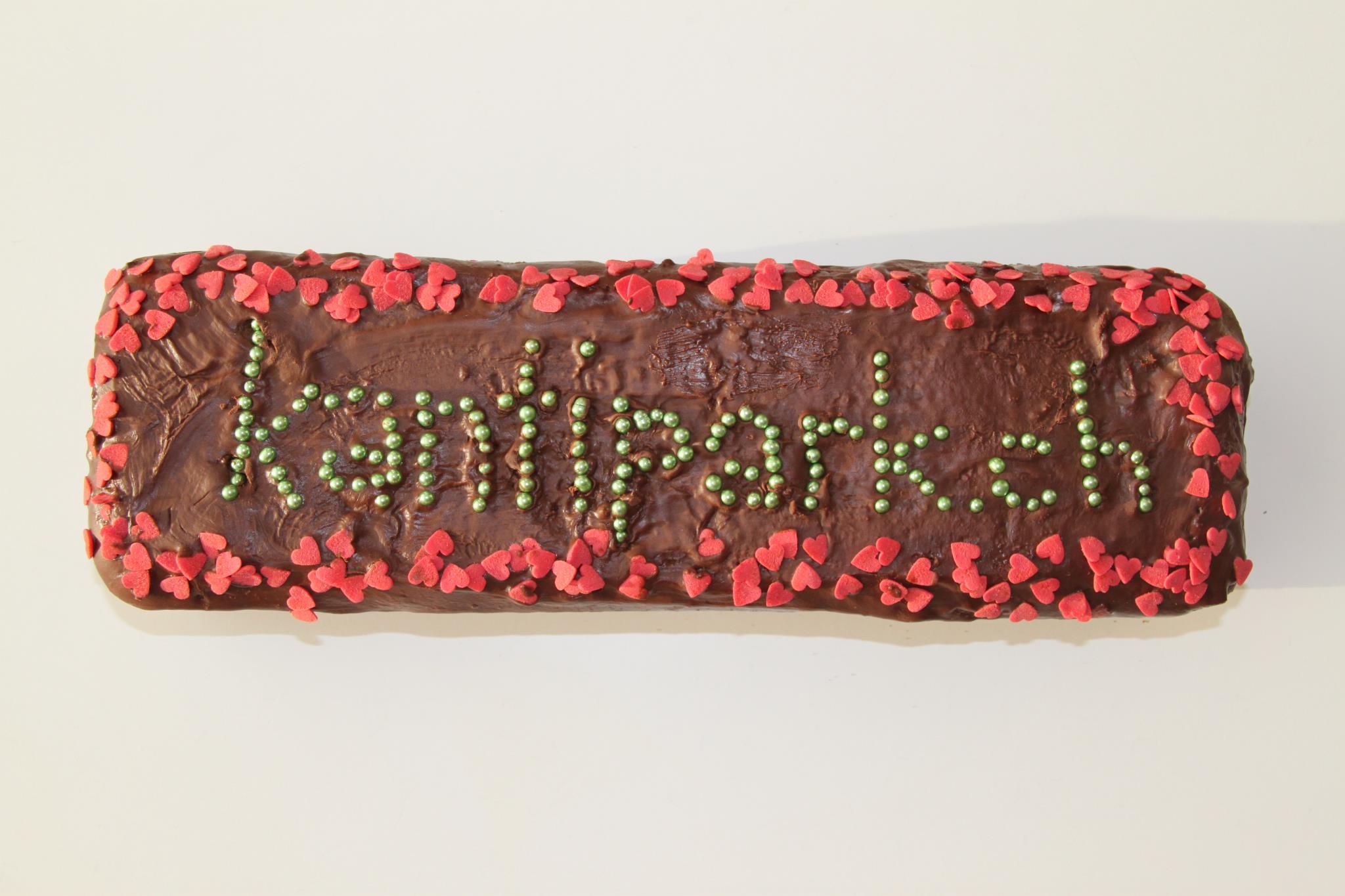 Kuchen und Kunstkiosk