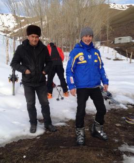 Winter sports Kyrgyzstan