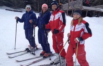Wintersport in Kirgistan