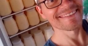 Kein Käse: die Hofmolkerei steht!