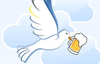 Saufen für den Frieden
