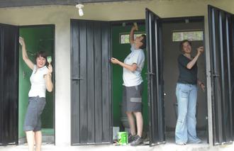 Umbau Wohnhaus Kinderheim