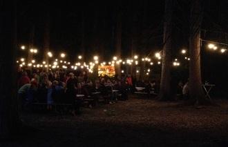 Unterhaltung Waldfest