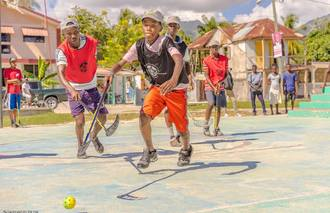 Unihockey in Haiti 2017