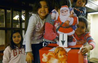Weihnachtsaktion Asylheim