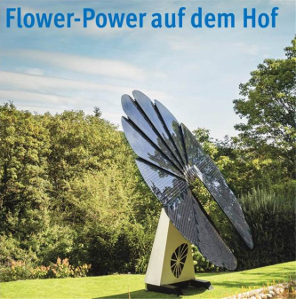 Flower-Power auf dem Hof