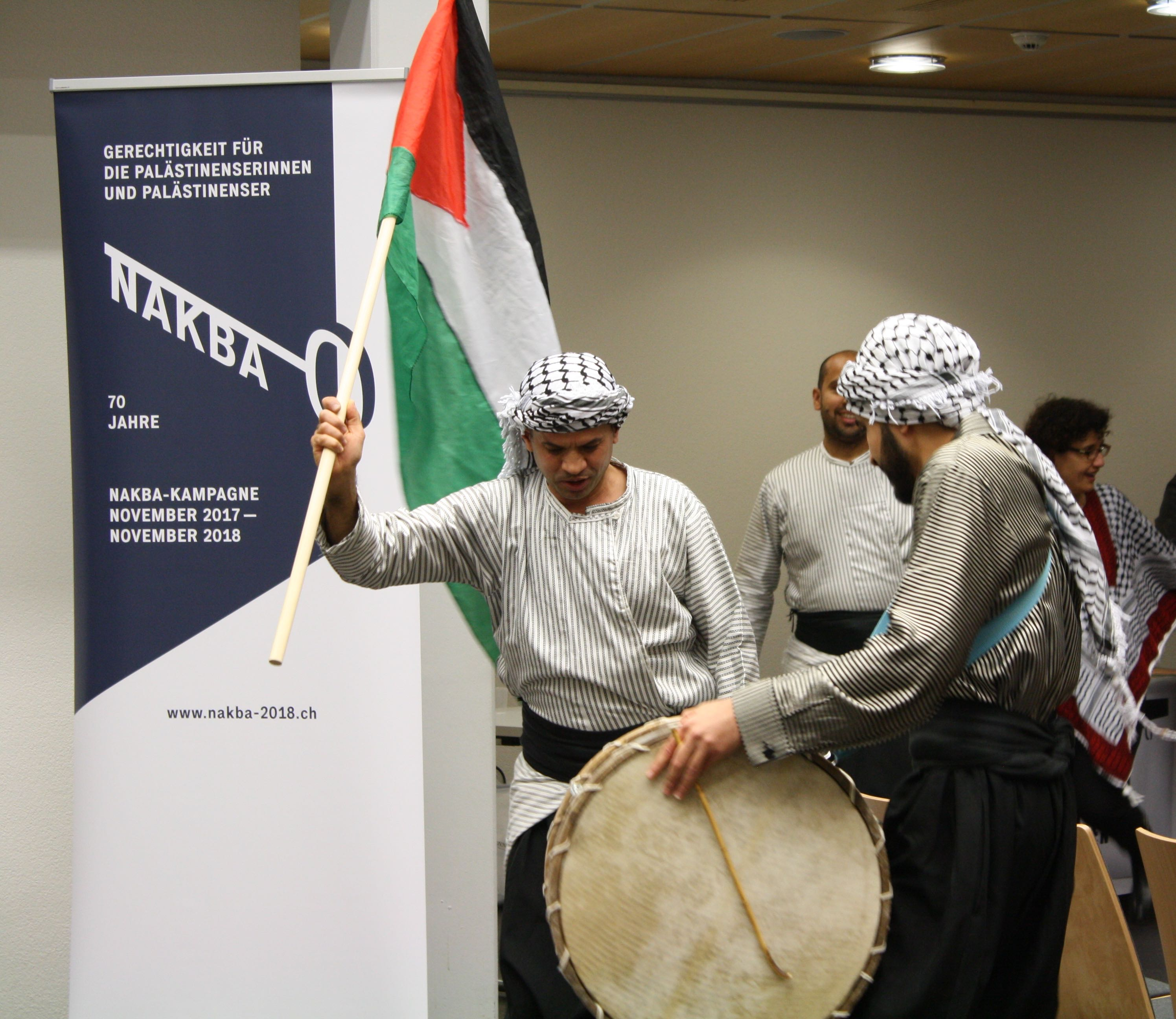 Die Kampagne Nakba-2018 ist auf  Touren