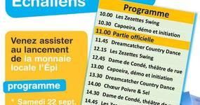 Samedi 22 Septembre, c'est le jour du lancement de l'Épi !