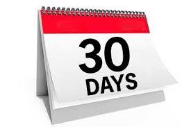 Noch 30 Tage