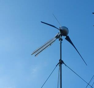 Strom vom Windrad
