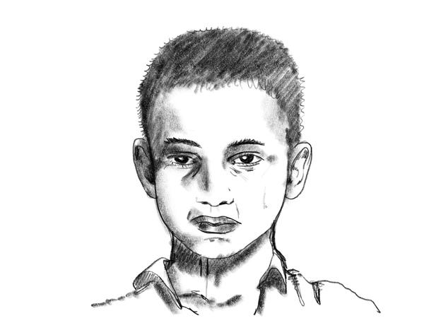 Farhad, 14, Afghanistan: «Ich bin erst 14 Jahre alt, aber ich bin müde vom Leben, wirklich sehr müde.»