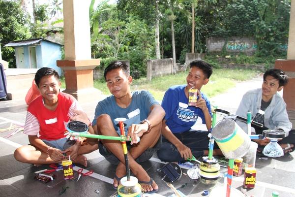 De la lumière pour Bali