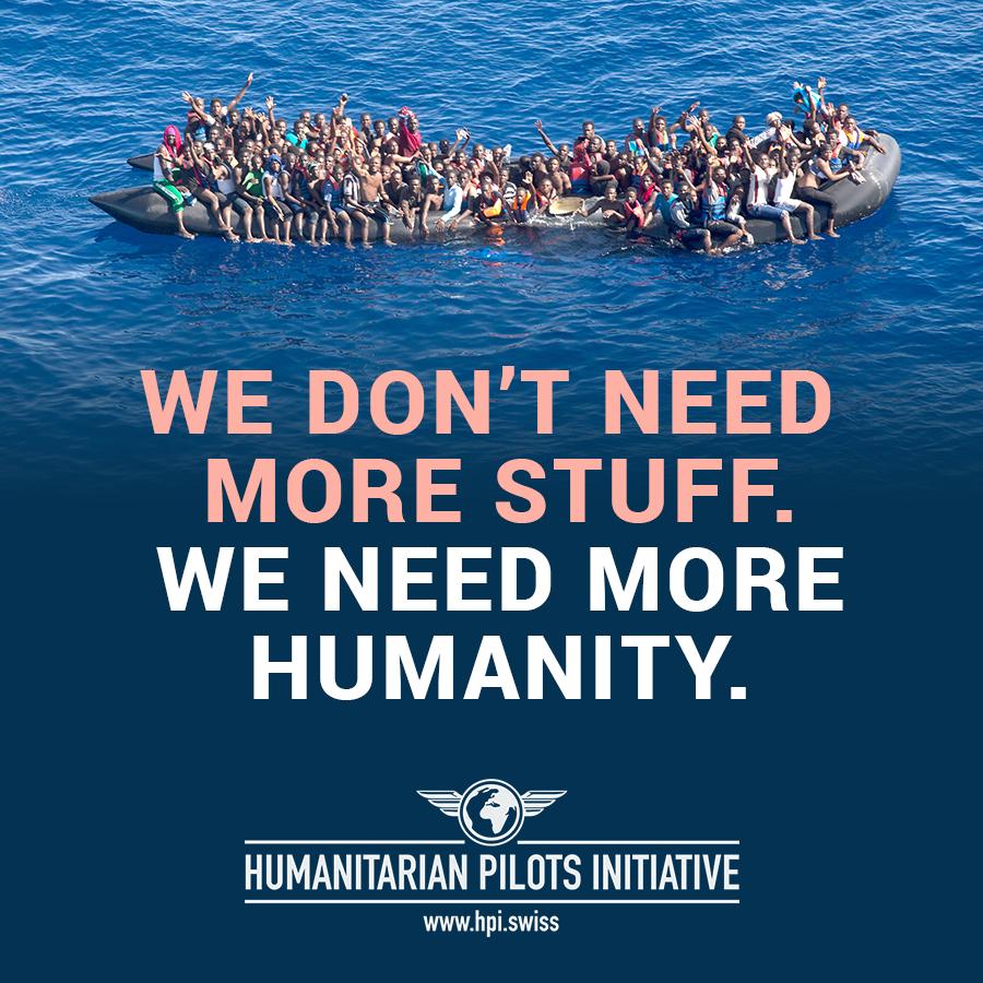 Mehr sammeln für mehr Menschlichkeit