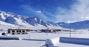 Heavy Snow fall in Zanskar