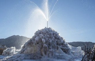 Ice Stupa Himalaya