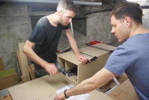 Rückblick: Bau des Prototyps