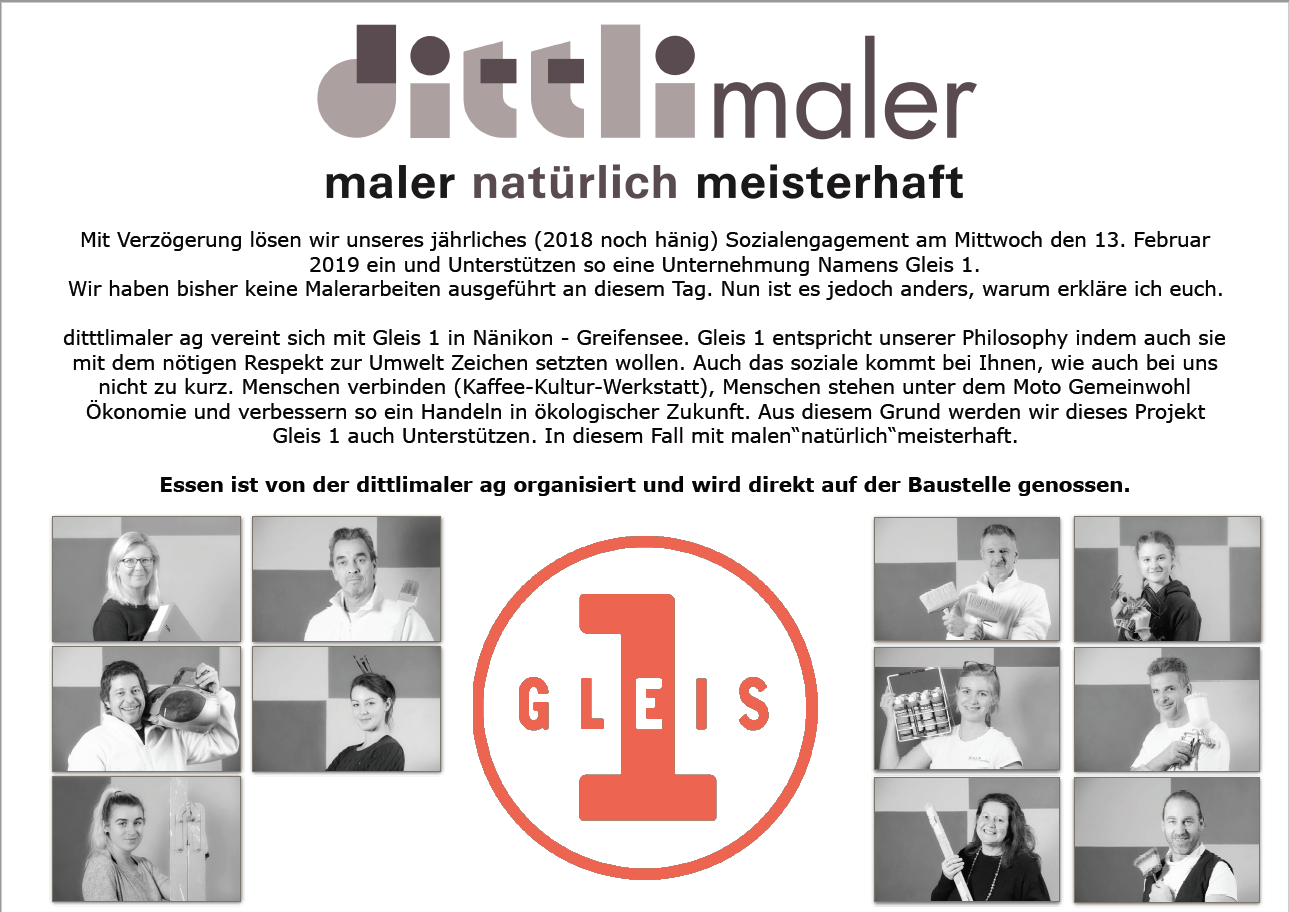 Tolle Worte unseres Malers