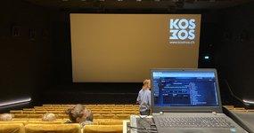 Screening des Dokfilmes mit den Beteiligten und der Produktion