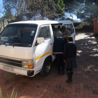 School Taxi from Township