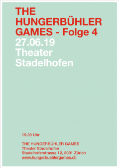 THE HUNGERBÜHLER GAMES