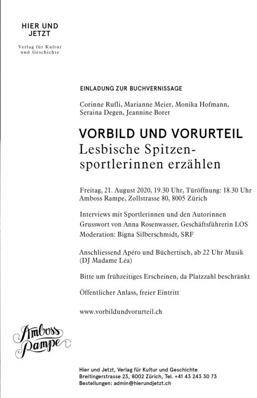 Vernissage am 21. August 2020