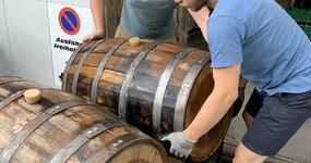 Der Matte Barrel IPA ist im Bourbon Barrique!