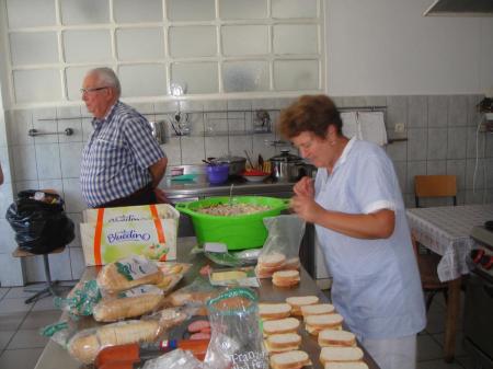 Suppenküche im Waisenhaus
