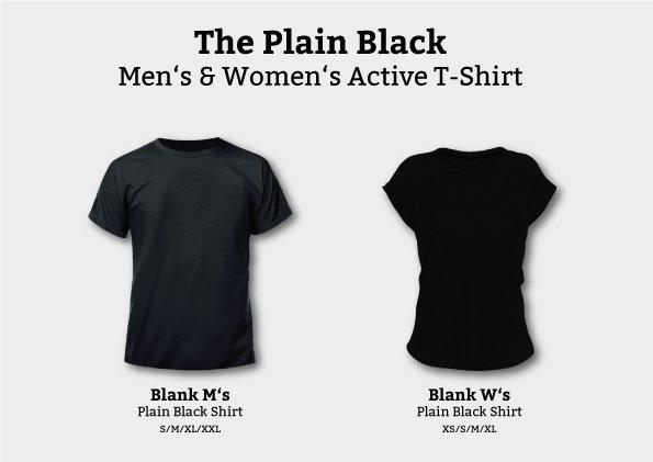 New Goodie: The Plain Black Shirt