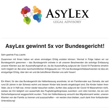 Team Detention von AsyLex