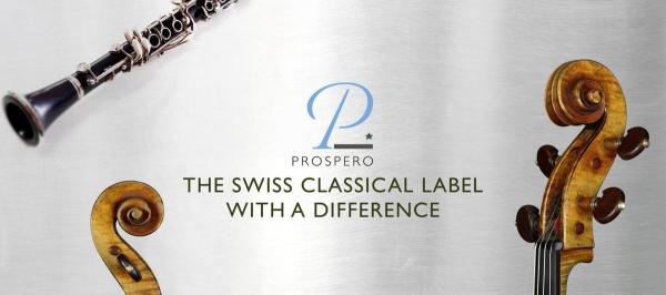 Prospero Classical Records will release my album!