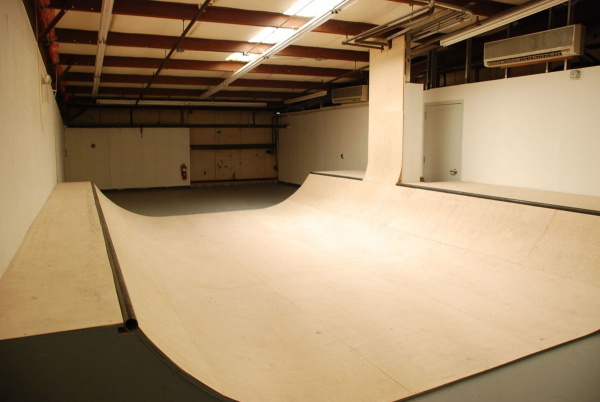 Belgrade indoor mini ramp