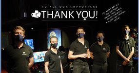 We have made it - Thanks to you - We are gratefull from the bottom of our hearts <3