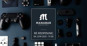 RE-REOPENING MANABAR - 04. Juni 2021  17.00