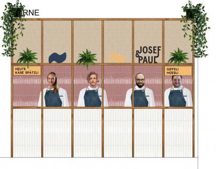 Foodstand Josef & Paul