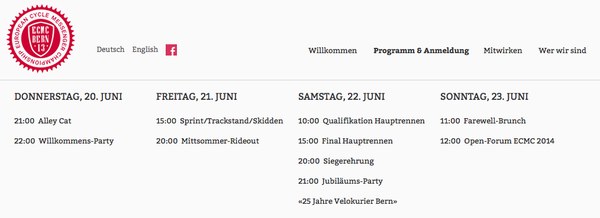 DANK!  - EURE SPENDE WOFÜR! - NEUE GOODIES ONLINE! - www.ecmc2013.ch